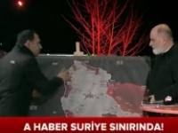 A Haber Suriye Sınırı Canlı Yayın Nejat ÖZDEN