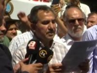 Asder ve Sultanhamam Esnafı dövizlerini bozdurdu ve basın açıklaması yaptı